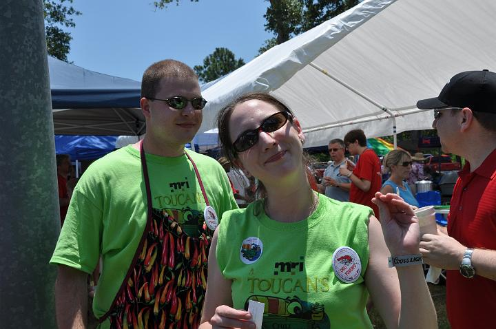 Stephen & Sara @ the Chili Cookoff