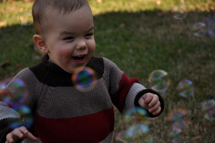 Jackson chasing bubbles