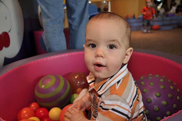 Jackson at the Children's Museum