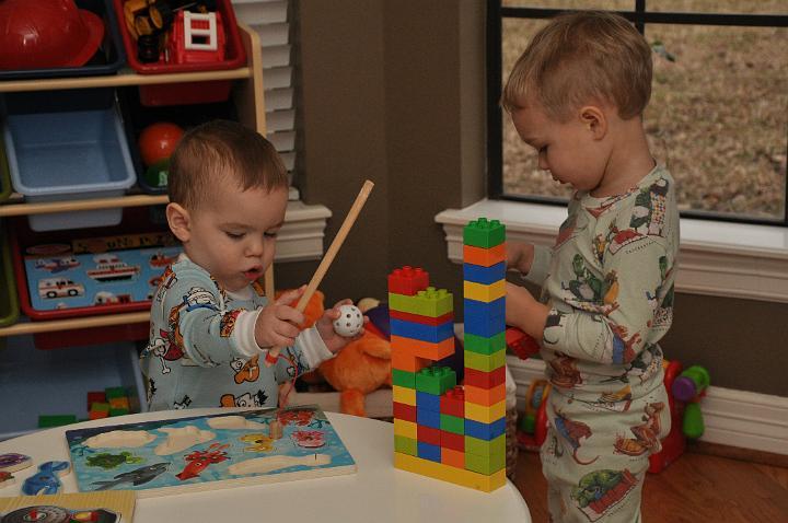 Jackson & Carter Playing