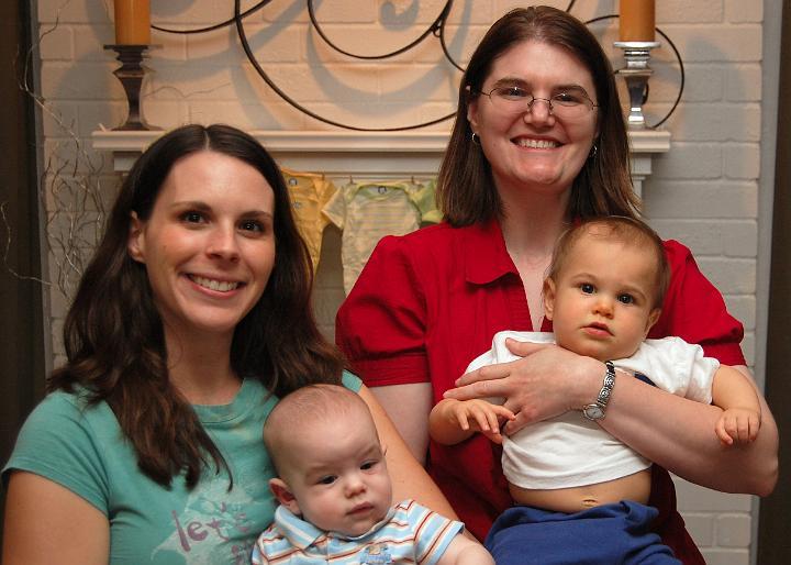 E, Jackson, Tammy, & Bryan