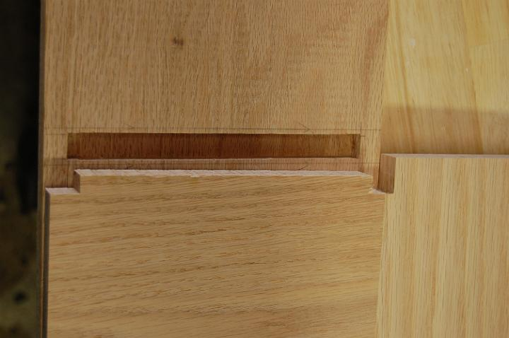 bedside table joinery