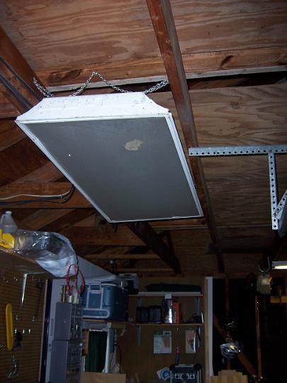 old garage light