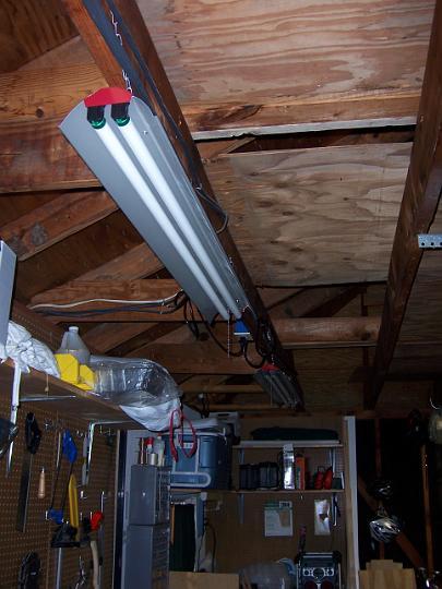 new garage light