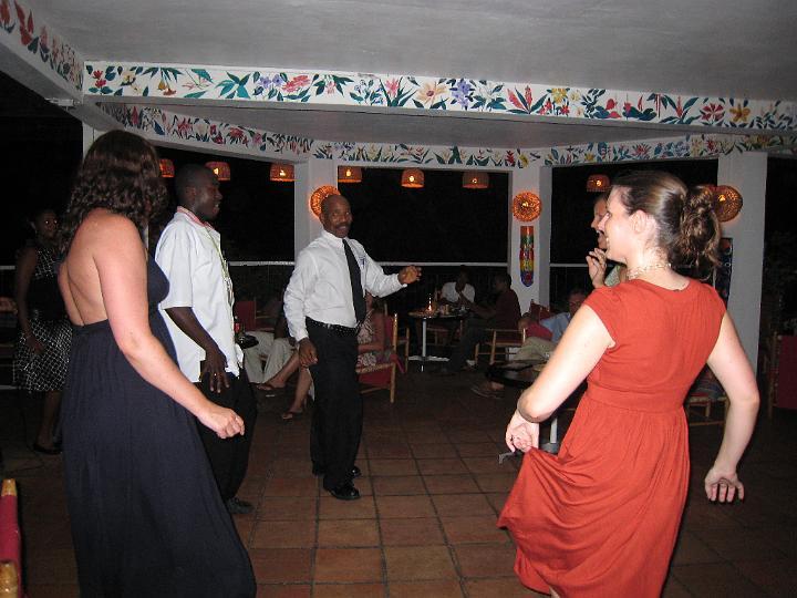 E dancing