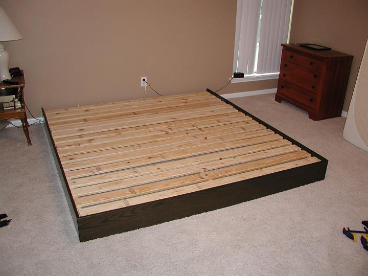 how to make a cheap platform bed frame | Small Woodworking Projects