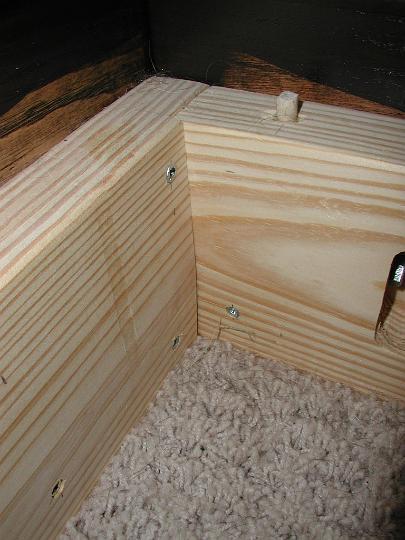 platform bed joint