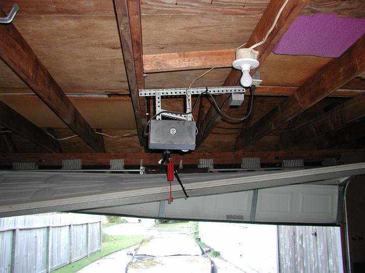 falling garage door