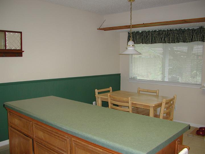 before picture of breakfast nook
