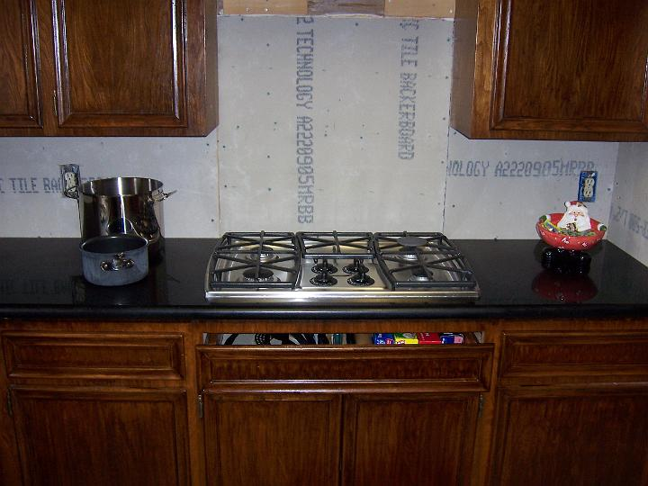 new cooktop