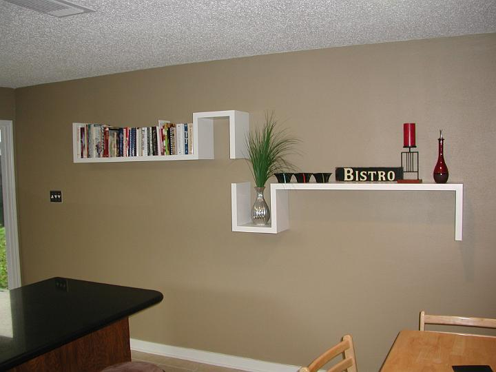 S wall shelves