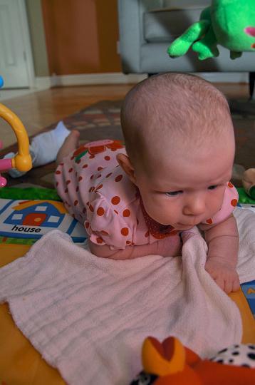Audrey @ 7 Weeks