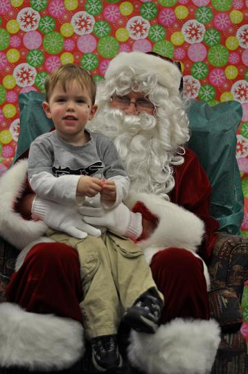 Jackson and Santa