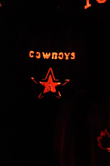 Cowboys Pumpkin