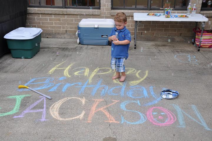 Happy 2nd B-day Jackson