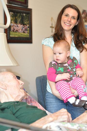 Great Grandfather, Audrey, and E
