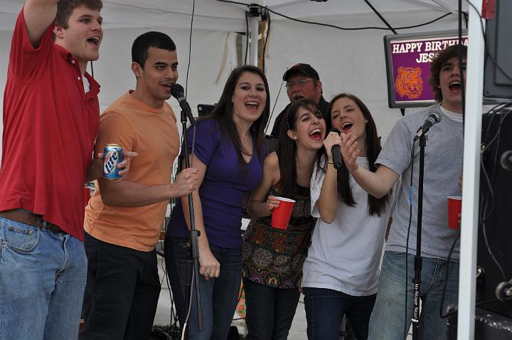 Jessie, Jordan, and friends
