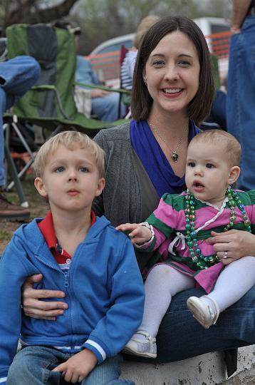 Carter, Barbara, and Audrey