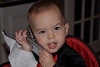 Jackson on the phone