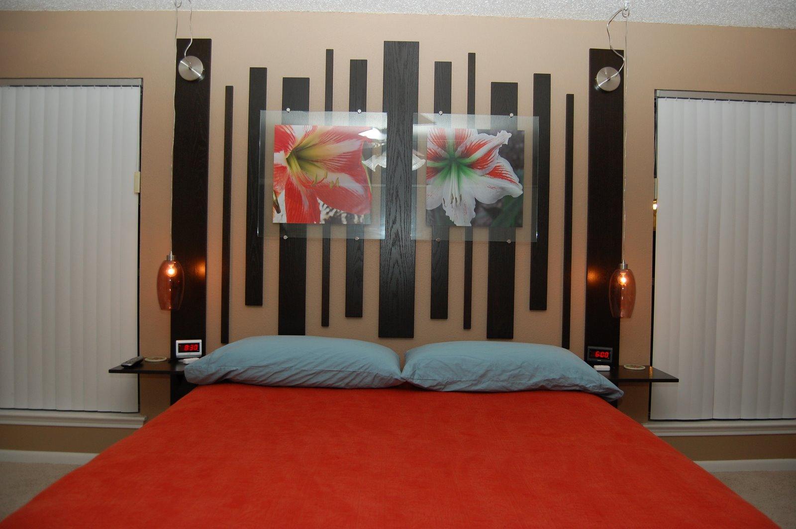 Bed headrest design home designs for Bed headrest design
