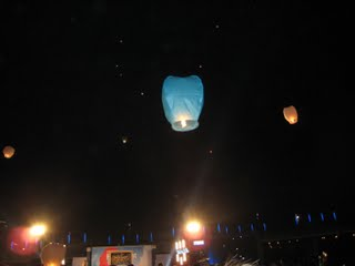 launched lantern